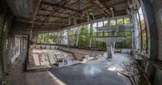 Изоставена сграда в Препят