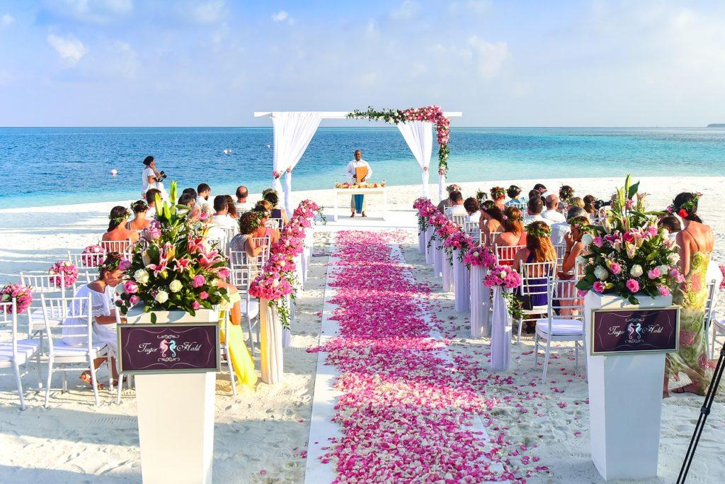 Идея за сватба на брега